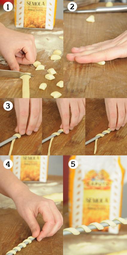 Pastaschule 2: Fusilli selber machen