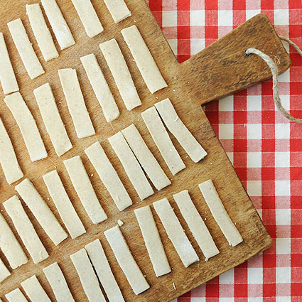 Pastaschule 10: Buchweizennudeln Pizzoccheri selber machen