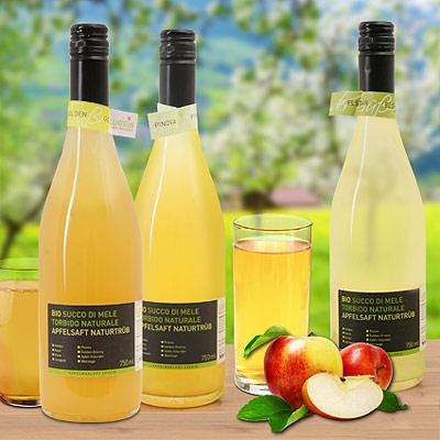 Apfelsaft aus Südtirol