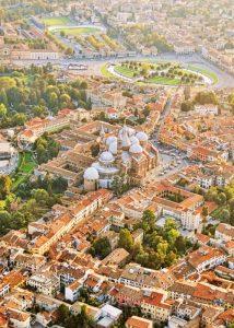 Padua von oben