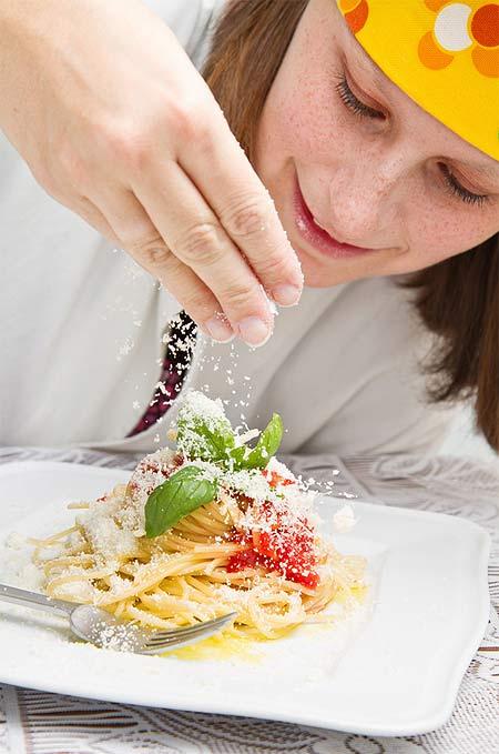 Grana Padano und Pasta