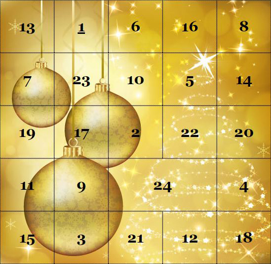 Keine Adventskalender in Italien?
