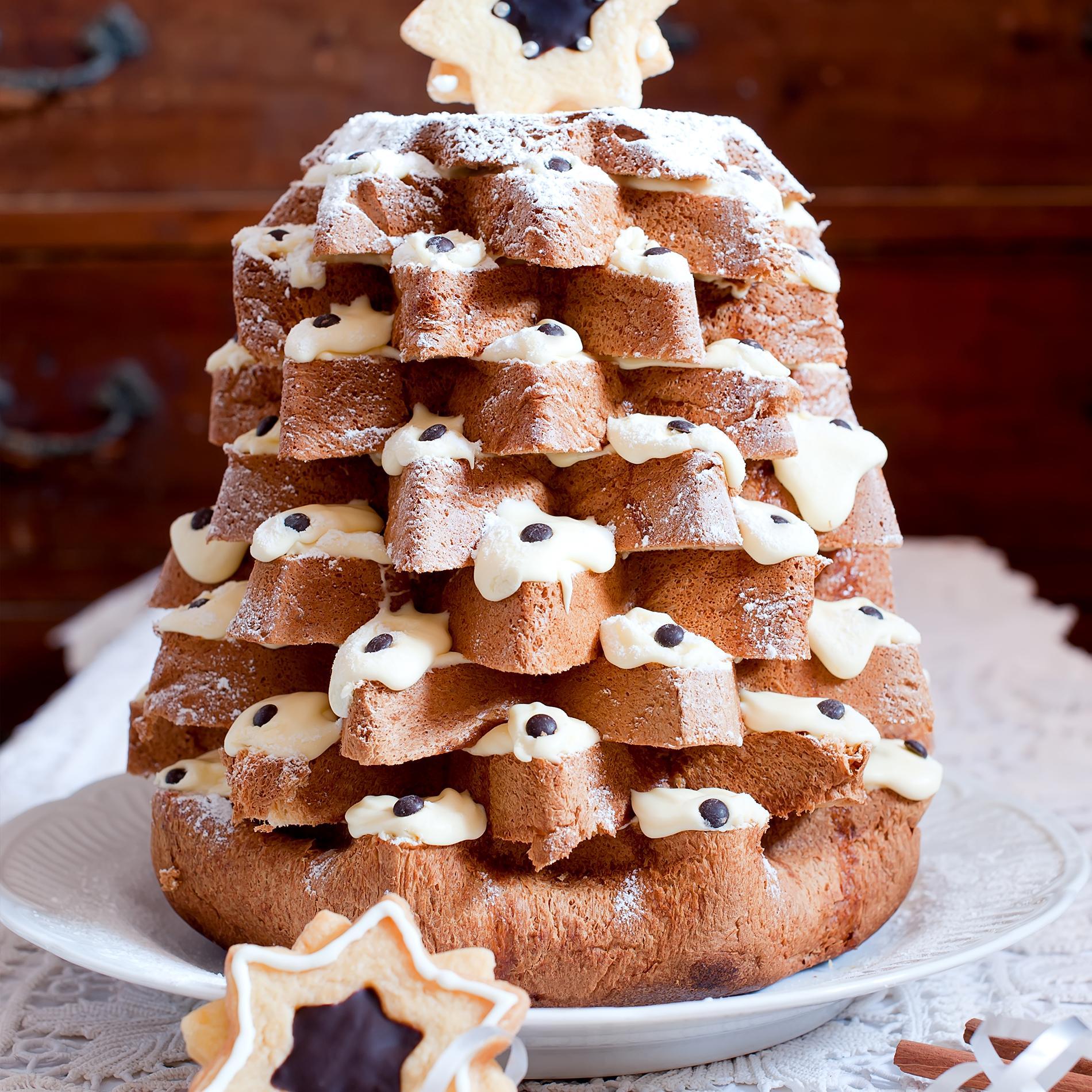 Pandoro-Rezept – Weihnachtskuchen mit Mascarpone