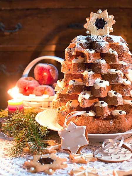 Pandoro-Weihnachtsbaum