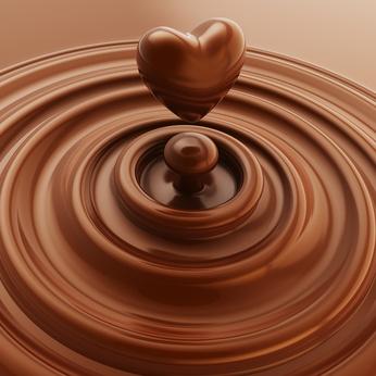 Ein Herz aus Hot Ciok