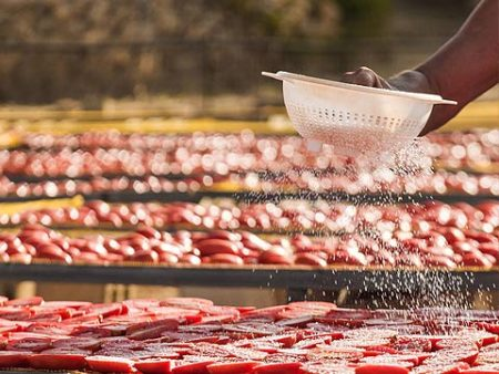 i conatdini - Salzen der Tomaten