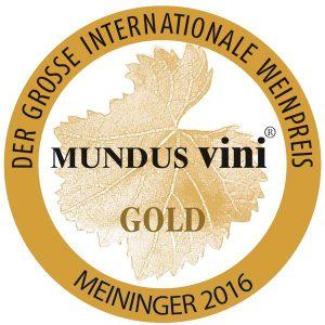 Goldmedaille Mundus Vini 2016 für Primitivo Barone Mavelli