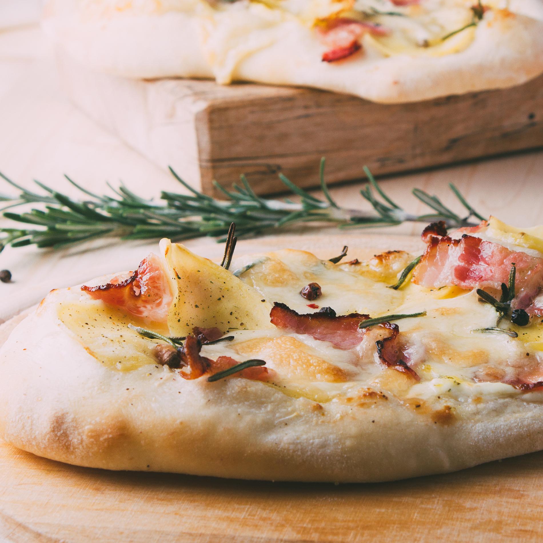 Focaccia Burrata-Rezept aus Italien