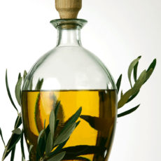 Olivenöl-Flasche