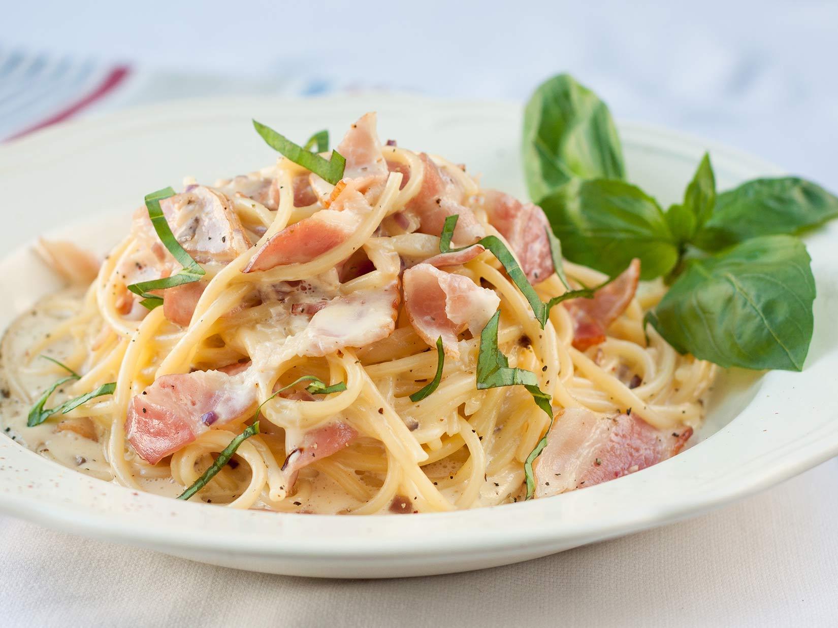 Spaghetti Carbonara – Originalrezept aus Italien