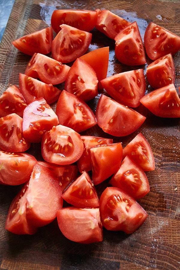 Tomatenwürfel