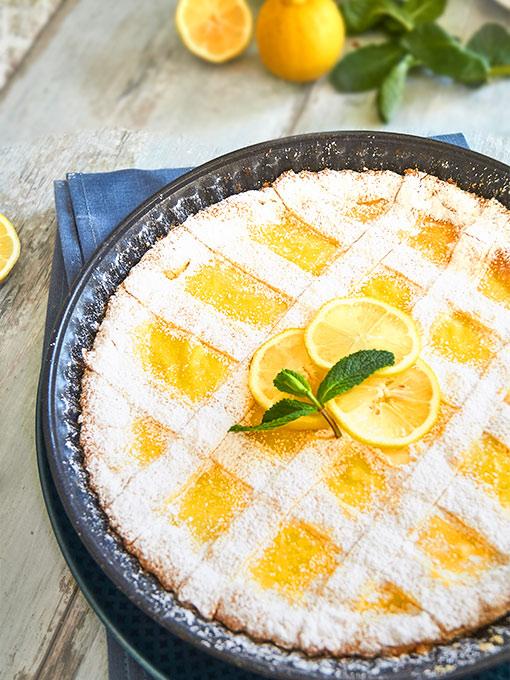 Crostata al Limone – Tarte mit Zitrone
