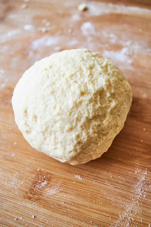 Fertiger Pastateig ohne Ei