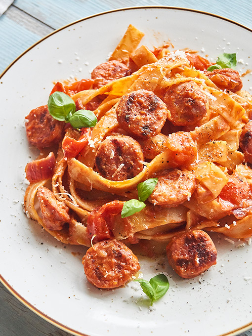 Pappardelle – Rezept mit Salsiccia
