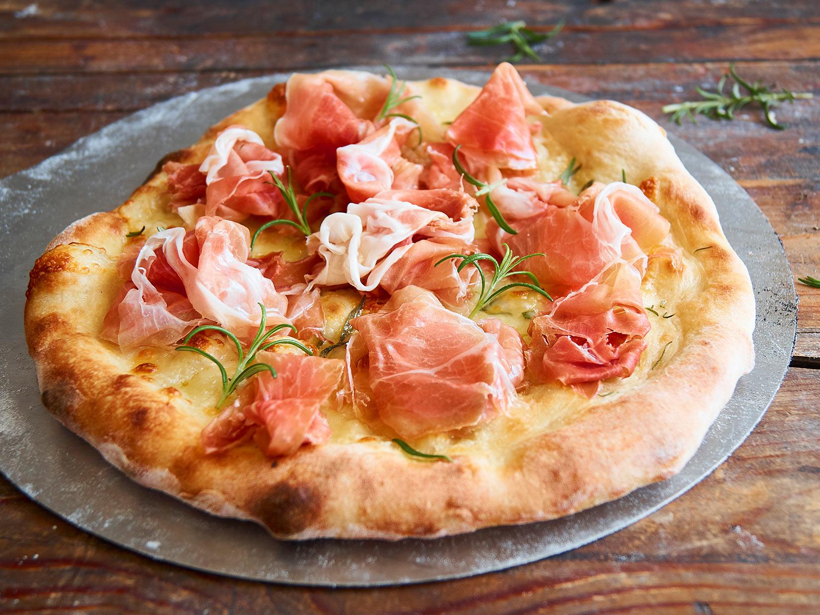 Pizza bianca – italienisches Rezept