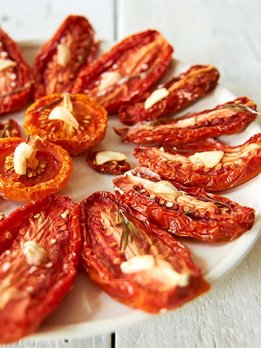Tomaten trocknen im Backofen