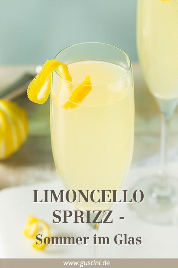 Limoncello Spritz für Pinterest