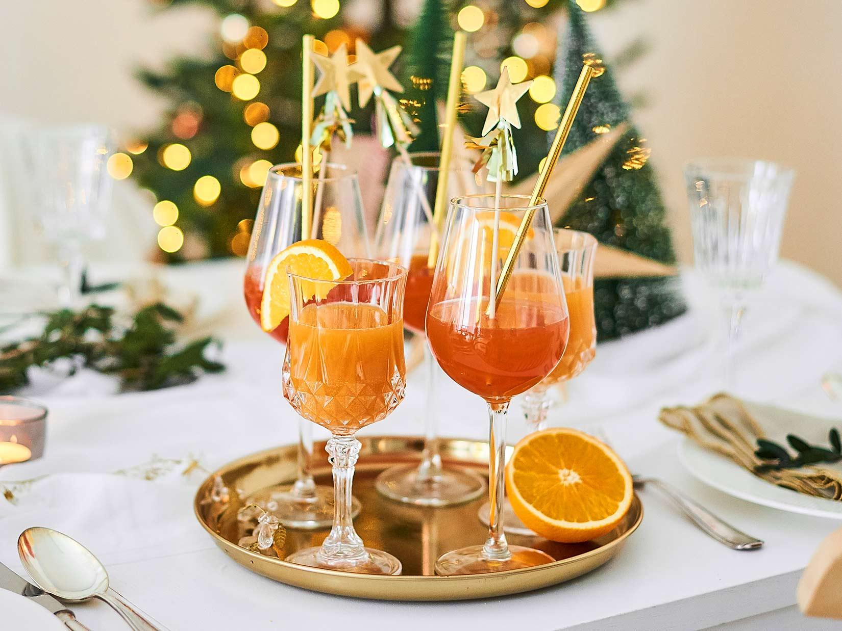 Aperol Spritz -Weihnachtsedition