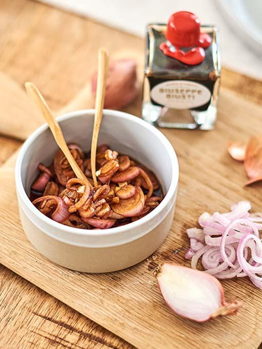 Balsamico Zwiebeln – italienisches Rezept