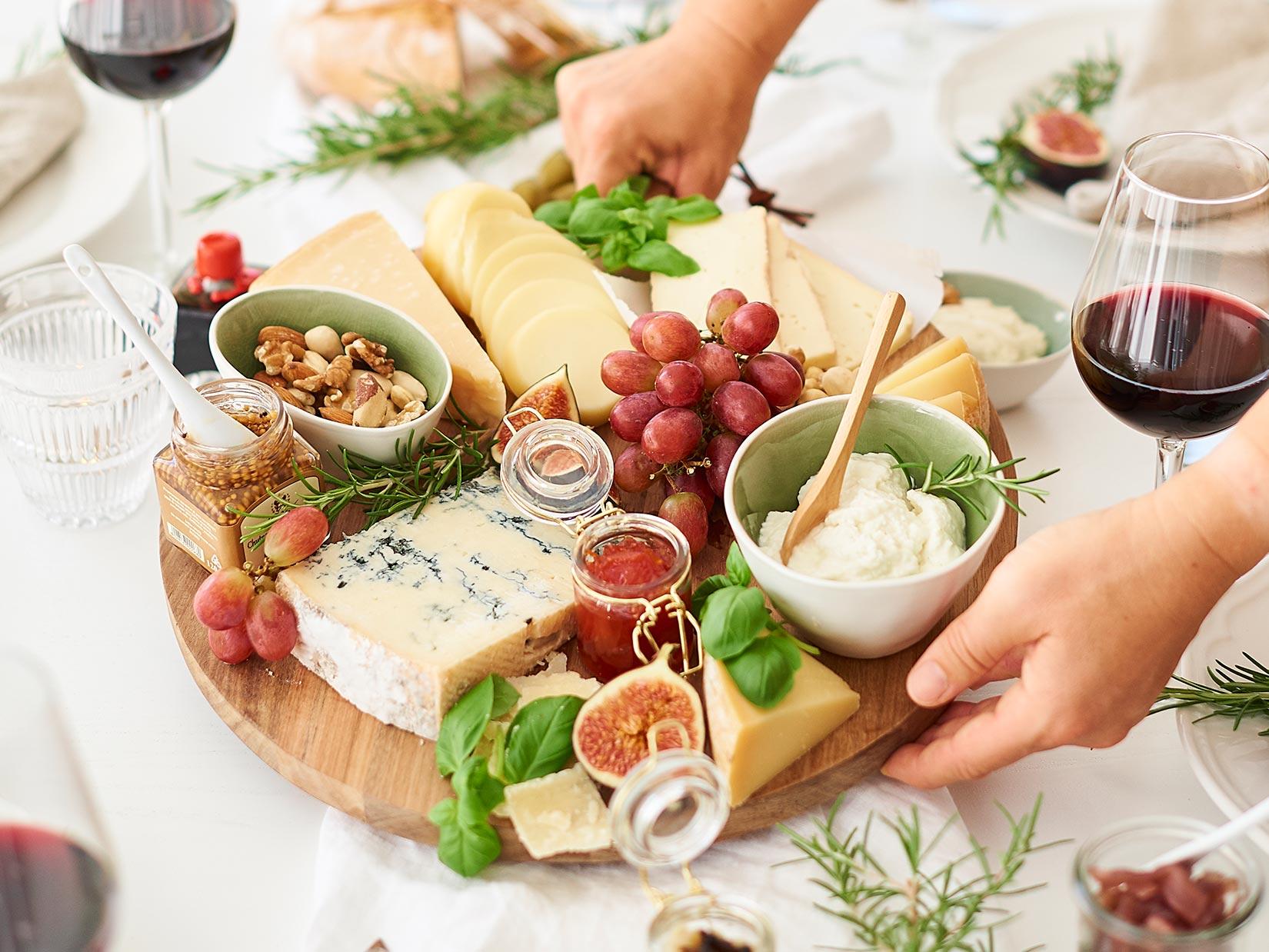 Italienische Käseplatte perfekt komponieren