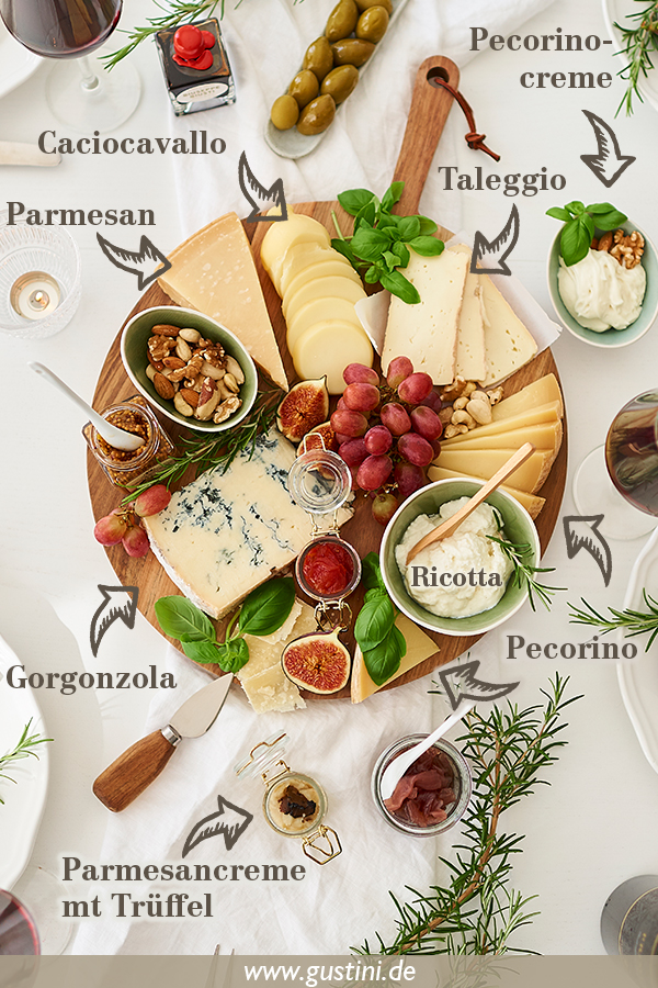 italienische Käseplatte (3)