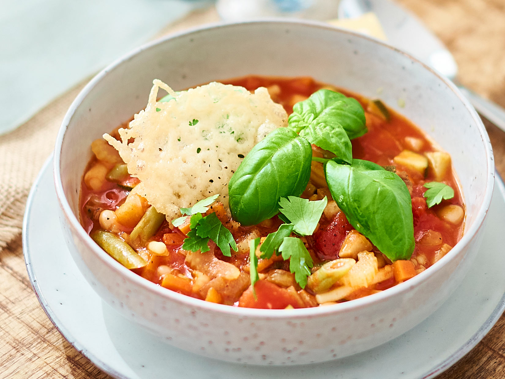 Minestrone – Rezept für italienischen Eintopf