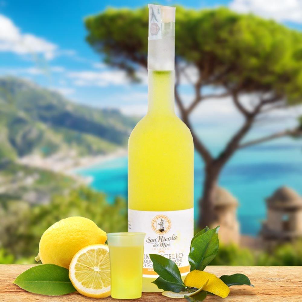 Limoncello Zitronenlikör Liquore di Limoni di Sorrento IGP