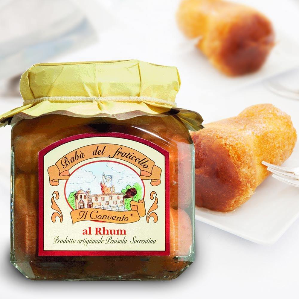 Babà al rhum Dessert Minikuchen in Rum