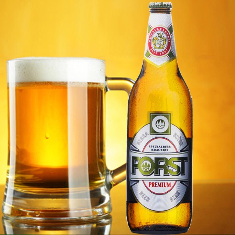 Birra Forst Premium Bier aus Italien cl 33