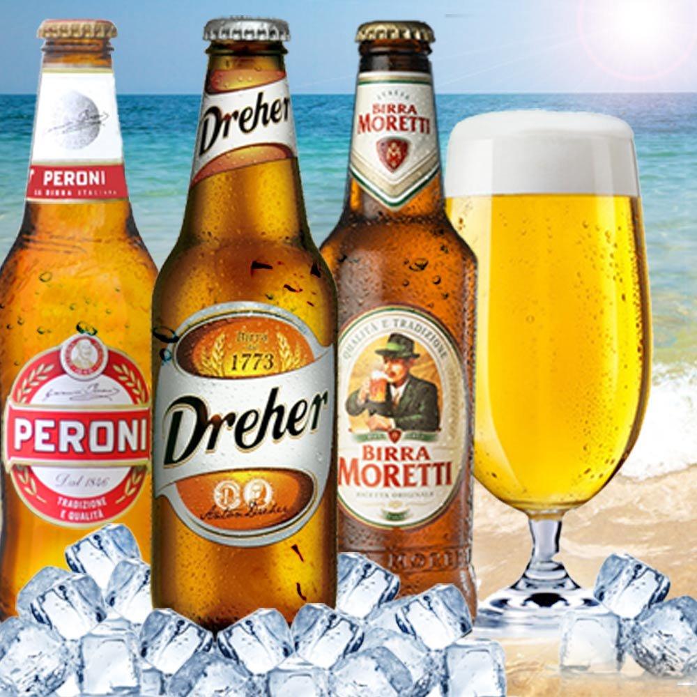 Italienisches Bier-Paket Birre Italiane