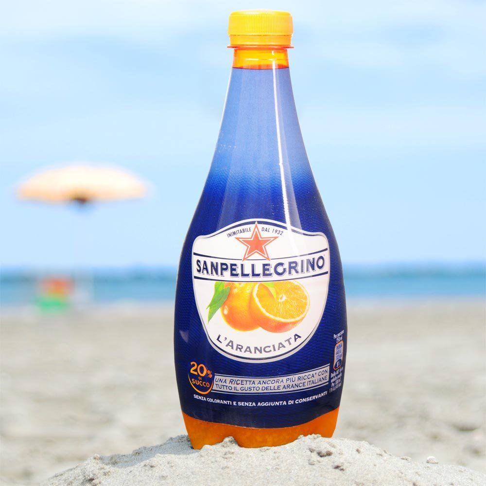 L Aranciata Orangenlimonade San Pellegrino inkl. 25 Cent Pfand