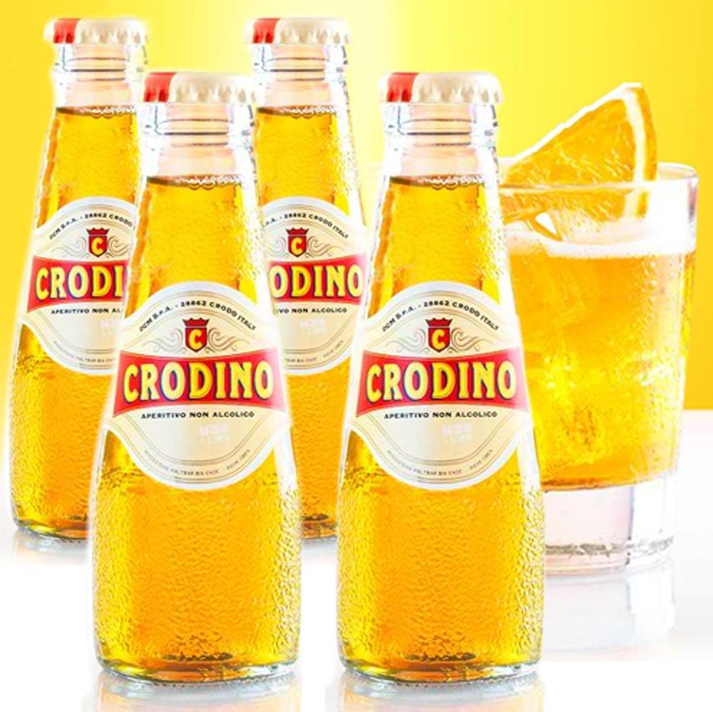 Crodino Aperitif ohne Alkohol San Pellegrino 4 x 98 ml Campari