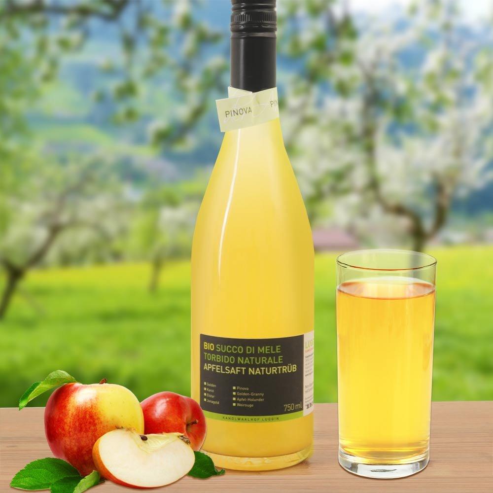 Pinova Apfelsaft sortenrein naturtr�b BIO Kandlwaalhof S�dtirol