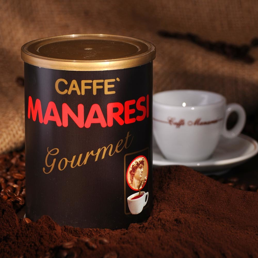 Manaresi Espresso Gourmet 100% Arabica gemahlen