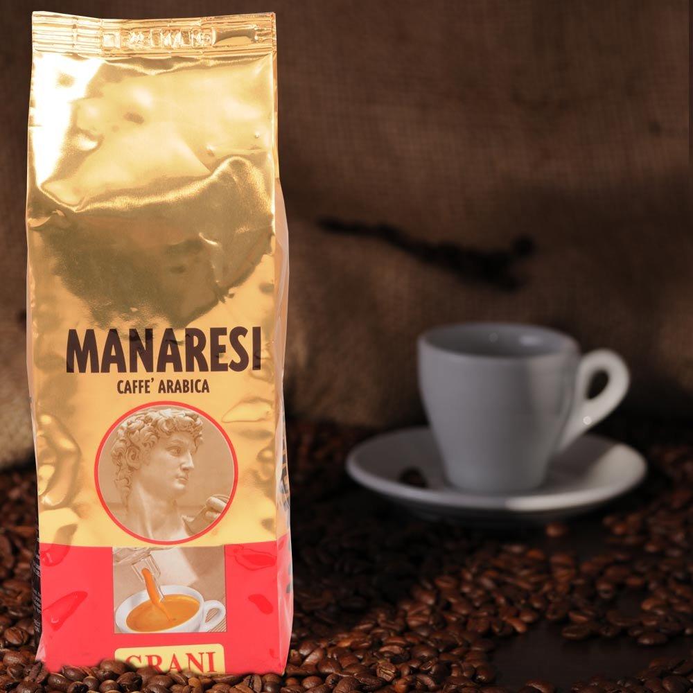 Manaresi Espresso Rosso 250g Bohnen