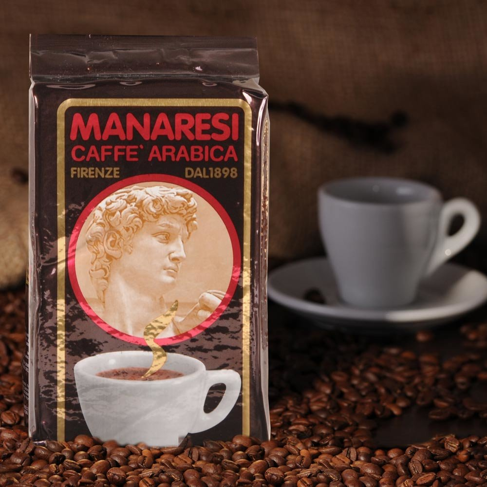 Manaresi Espresso Super Bar Brown 250g gemahlen