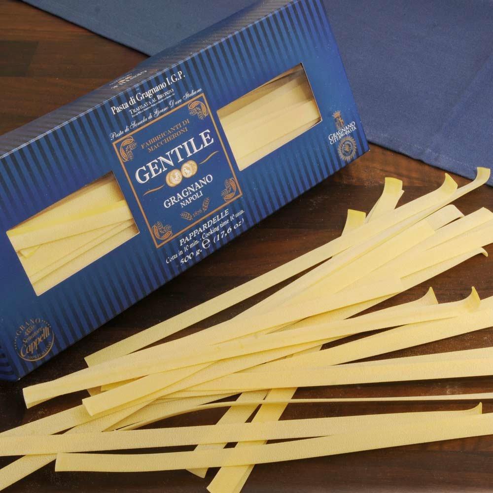 Pappardelle breite Bandnudeln Pasta di Gragnano IGP Pastificio Gentile