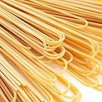 Bigoli all Uovo trafilati Pasta mit Ei aus Italien