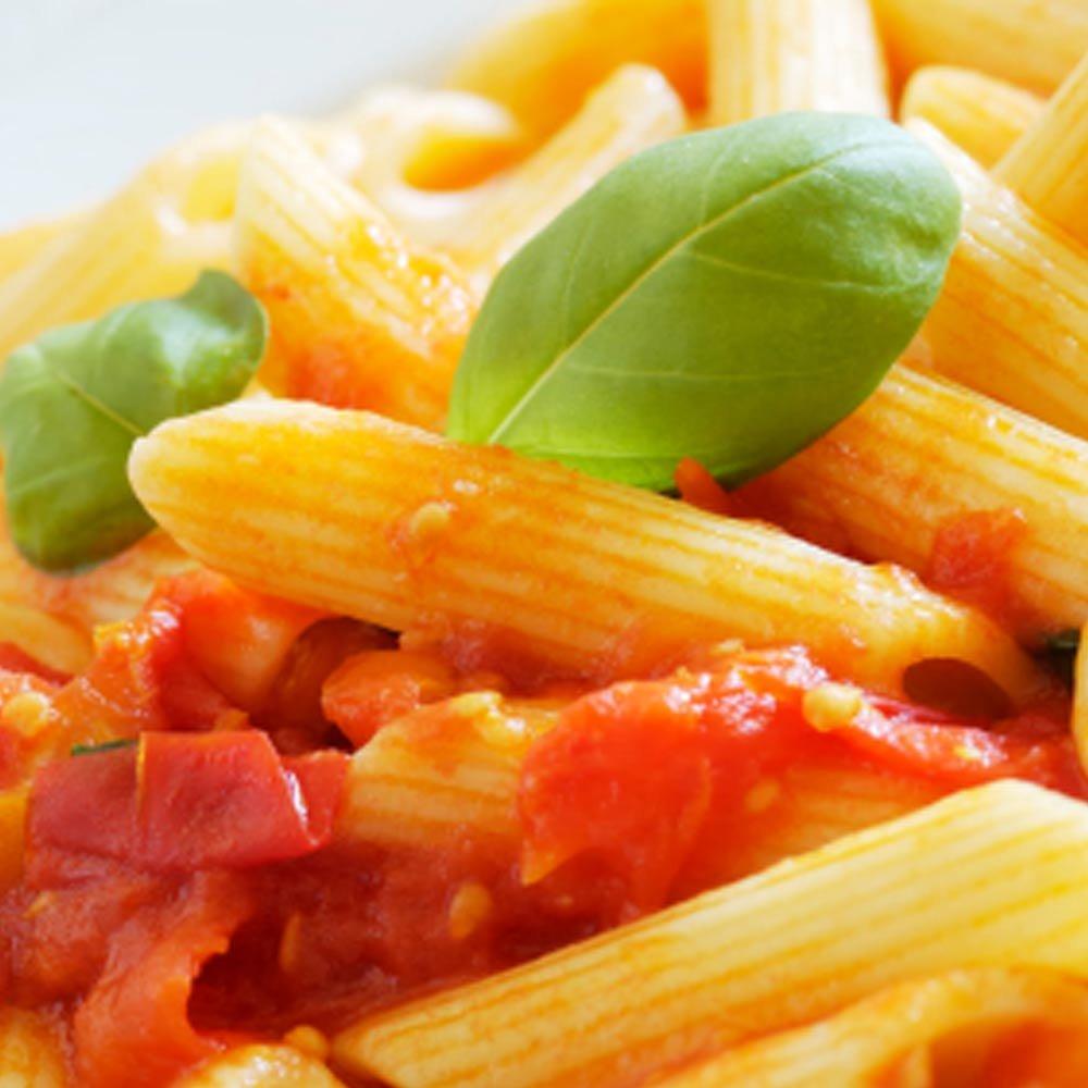 Penne Rigate Penne Ziti italienische Nudeln