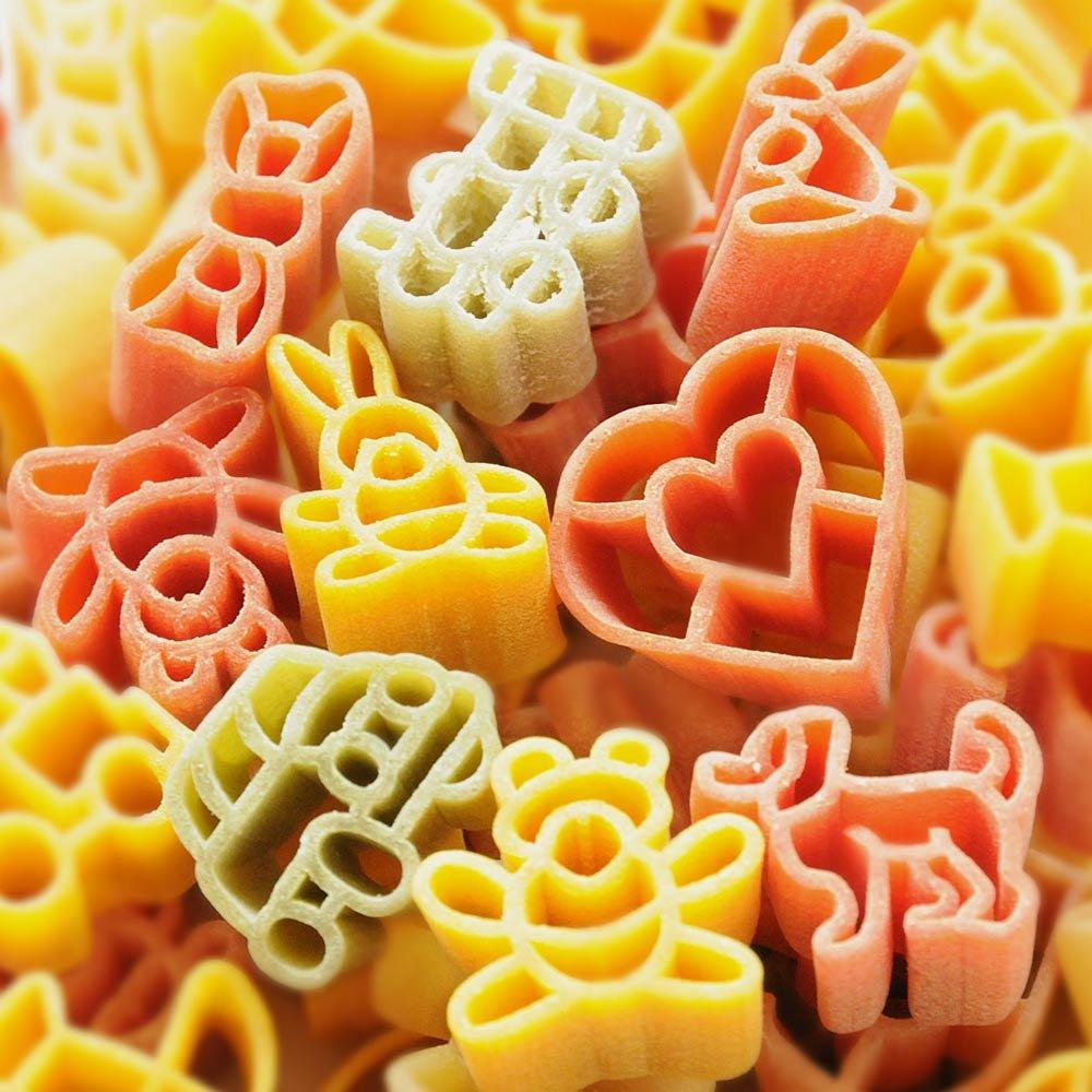 Pasta Bambina bunte Kindernudeln für Mädchen