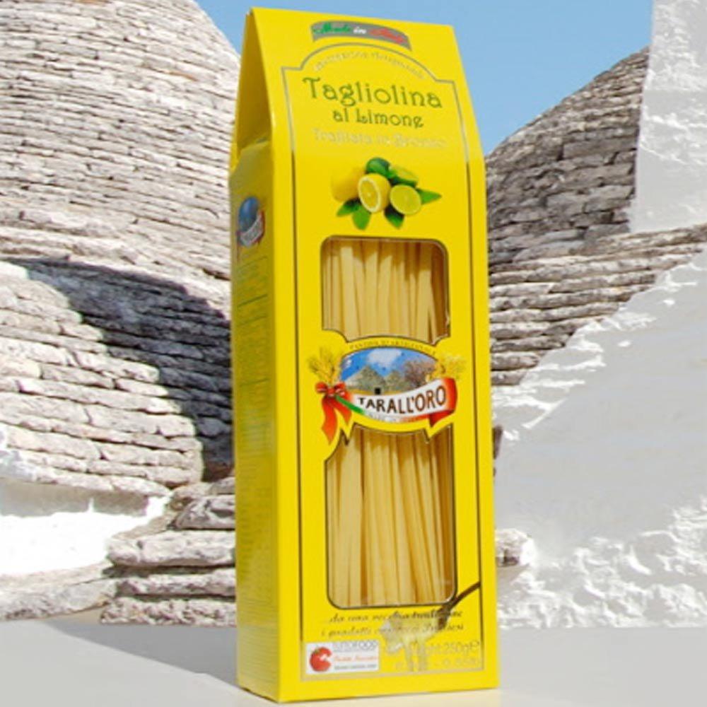 Zitronenbandnudeln Hartweizennudeln Tagliolina al Limone Apulien
