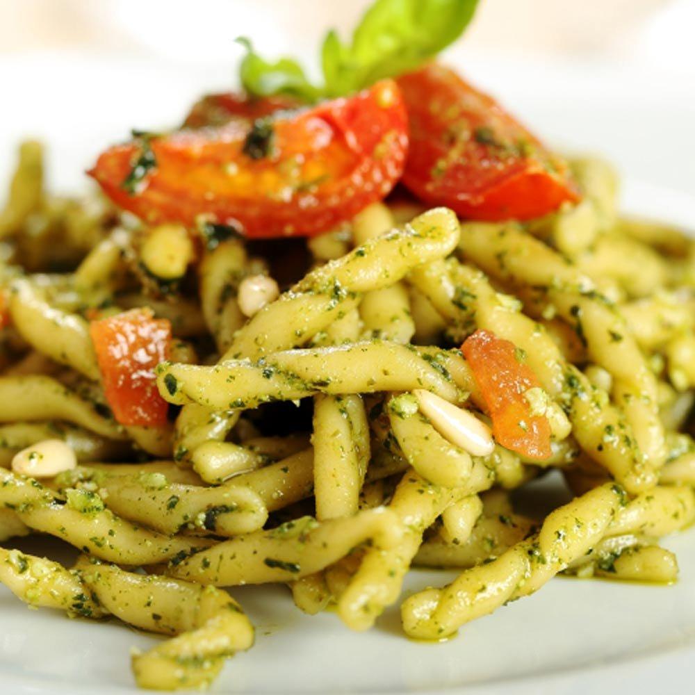 Strozzapreti freschi frische Hartweizennudeln ohne Ei Pasta di Casa Mia