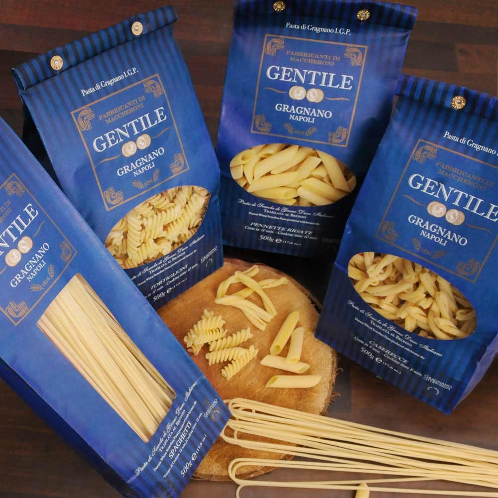 4er Vorteilspack Pasta Gentile aus Gragnano IGP