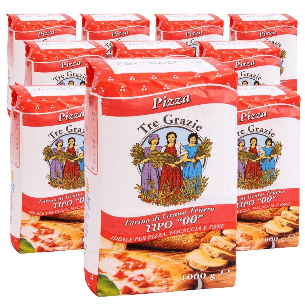 Vorteilspaket 10 kg Pizzamehl Tre Grazie