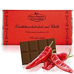Bitterschokolade mit Chili Dolci Pensieri
