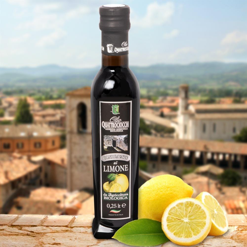 Zitronen Oliven�l Bio Frantoio Quattrociocchi Limone Olio