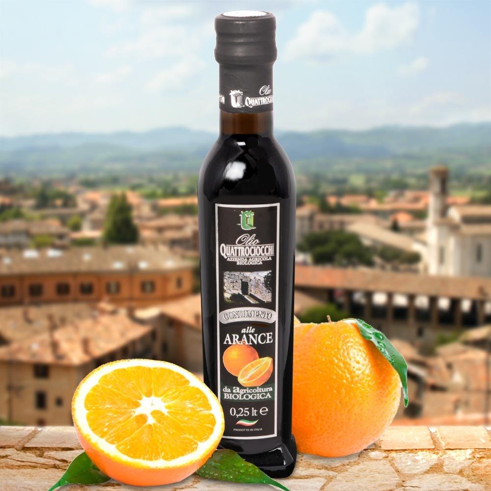 Orangen Olivenöl Bio Frantoio Quattrociocchi Olio all Arancia