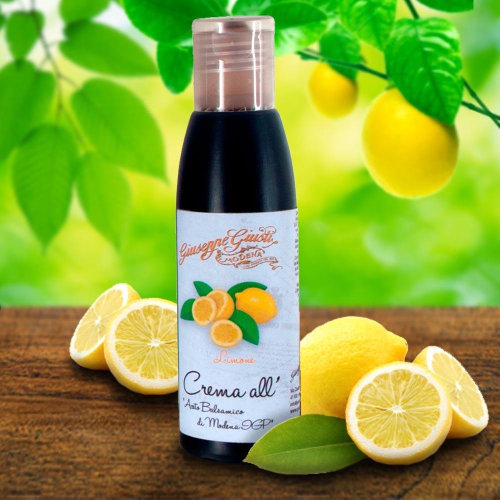 Balsamicocreme Zitrone Giusti Crema di Balsamico al Limone