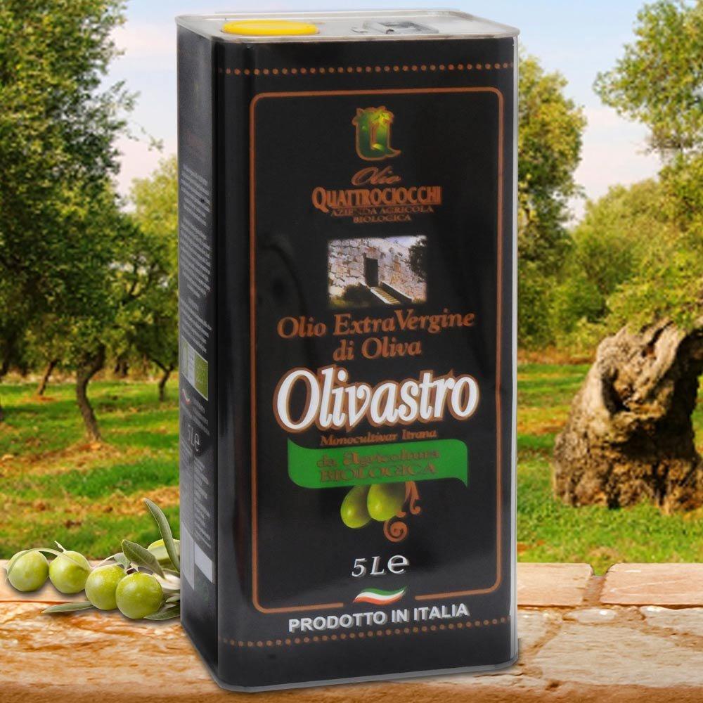 5 Liter Kanister Quattrociocchi Americo Olivastro BIO Oliven�l Extra Vergine Latium