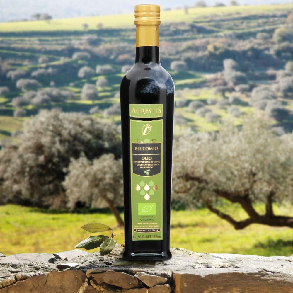Agrestis Bell Omio BIO Testsieger mittel-fruchtig Feinschmecker Olio Award 2012 Olivenöl Sizilien